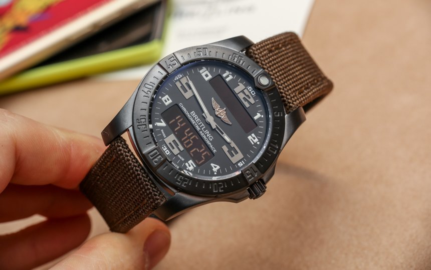 Reviewing Breitling Aerospace Evo Night Mission Replica Wristwatch