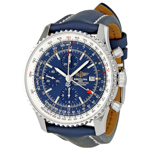 Hands On Replica Breitling Navitimer World Men's Watch With Stainless Steel
