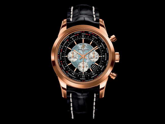 Boomer Esiason's watch of choice is the Breitling Transocean Chronograph Unitimer ($29,300)