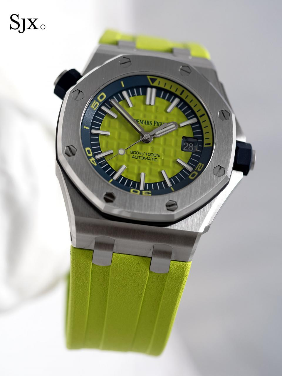 AP Royal Oak Offshore Diver green 1