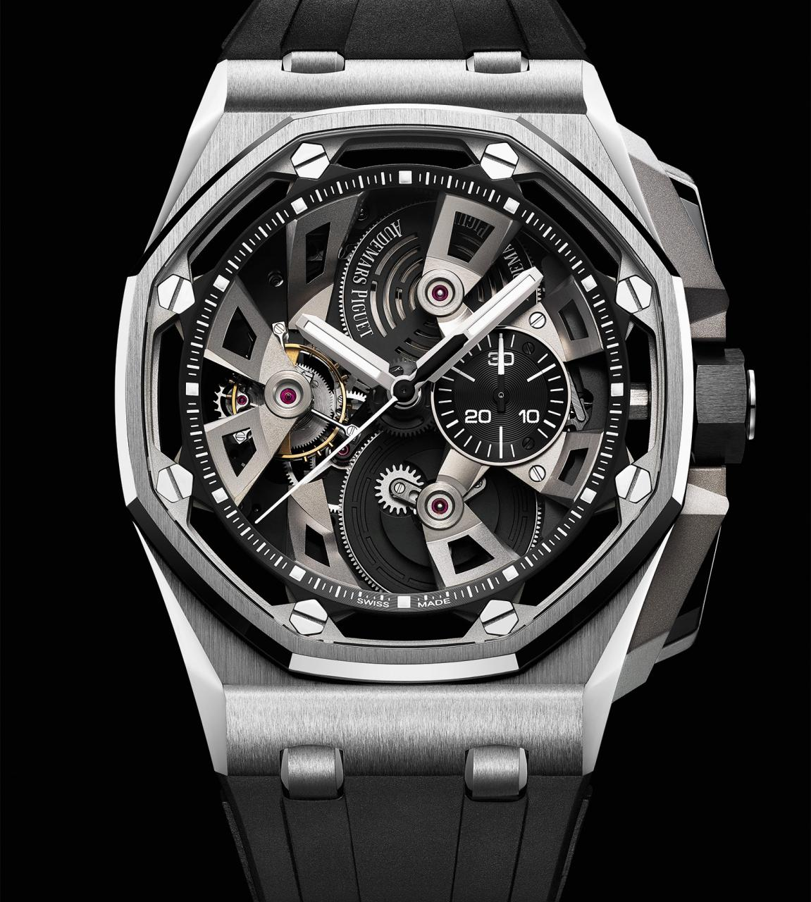 AP Royal Oak Offshore Tourbillon Chronograph