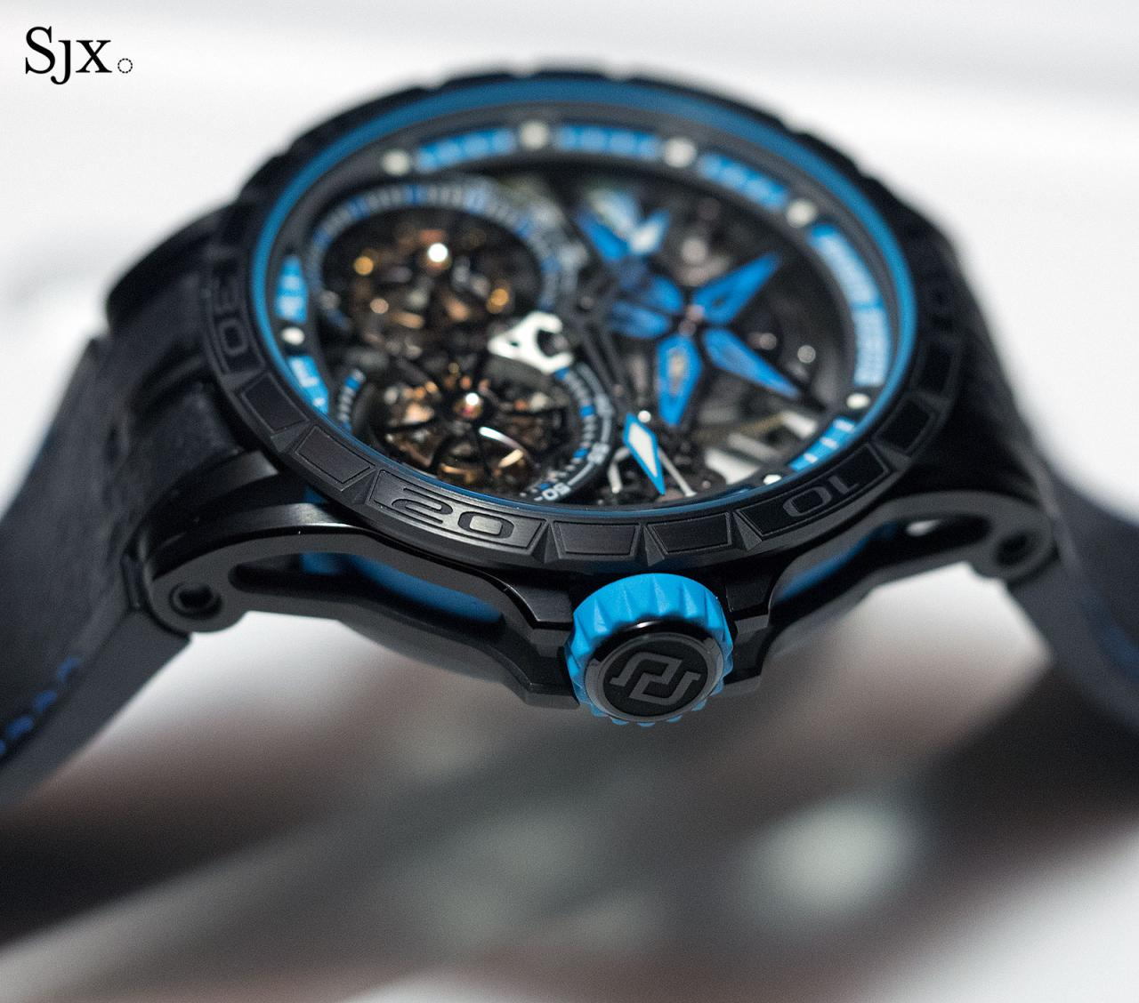 Roger Dubuis Excalibur Spider Pirelli Double Flying Tourbillon 2
